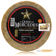Queso Manchego Mercedes DOP