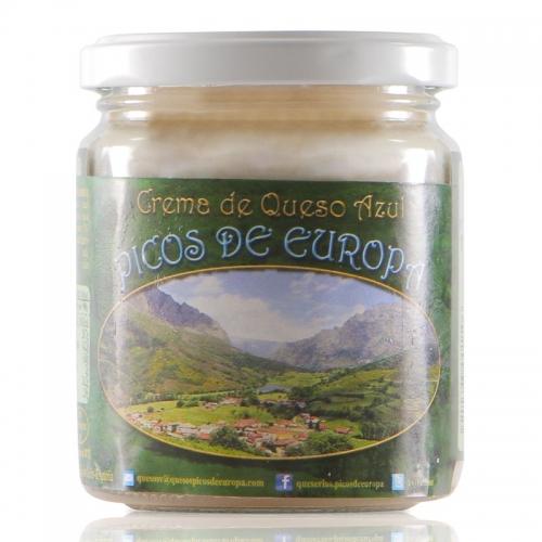 """Tarro crema AZUL VALDEON """"Garganta del Cares"""""""